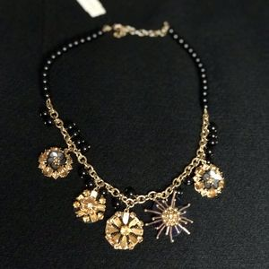NWT Talbots Necklace in Black and Gold